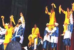 Punjabi Bhangra Dress