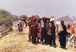 People of Balochistan with Balochi Dress