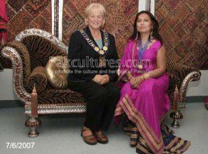 The Honourable, Susan Fennell, Mayor of Brampton with Yasmine Khan